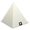96x96px size png icon of Apple Store Louvre Pyramid