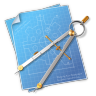 96x96px size png icon of Compasses