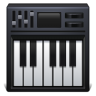 96x96px size png icon of piano keyboard