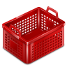 96x96px size png icon of basket empty