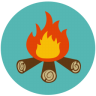 96x96px size png icon of Camp Fire Stories