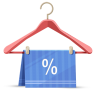 96x96px size png icon of discount