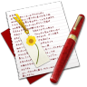 96x96px size png icon of Diary Bookmark