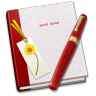 96x96px size png icon of Notebook Bookmark