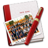 96x96px size png icon of Notebook Photo Class