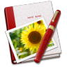 96x96px size png icon of Notebook Photo Sunflower