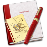 96x96px size png icon of Notebook Recipe