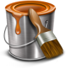 96x96px size png icon of paint bucket