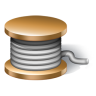96x96px size png icon of rope