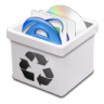 96x96px size png icon of trash milk full