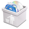 96x96px size png icon of milk trash full