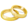 96x96px size png icon of Wedding Rings