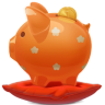 96x96px size png icon of piggy bank