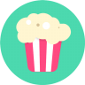 96x96px size png icon of Popcorn