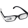 96x96px size png icon of Student Google Glasses