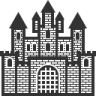 96x96px size png icon of Home Castle
