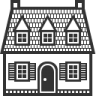 96x96px size png icon of Home French