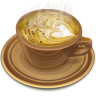 96x96px size png icon of Coffee brown