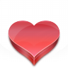 96x96px size png icon of Heart candies