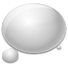 96x96px size png icon of bubble water rain