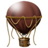 96x96px size png icon of Hot Air Balloon