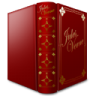 96x96px size png icon of Jules Verne Book