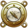 96x96px size png icon of Nautilus Compass