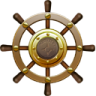 96x96px size png icon of Nautilus Ship Steering Wheel