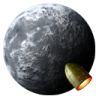 96x96px size png icon of Rocket Moon