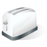 96x96px size png icon of Toaster