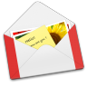 96x96px size png icon of Letter GMail