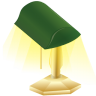 96x96px size png icon of lamp