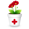 96x96px size png icon of plant