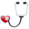 96x96px size png icon of stethoscope no sh
