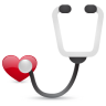 96x96px size png icon of stethoscope