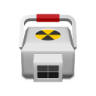 96x96px size png icon of medical radioactive