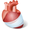 96x96px size png icon of Body Heart Injury