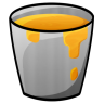 96x96px size png icon of Bucket Lava