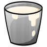 96x96px size png icon of Bucket Milk