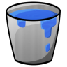 96x96px size png icon of Bucket Water