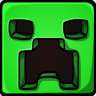 96x96px size png icon of Creeper