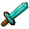 96x96px size png icon of Diamond Sword