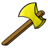 96x96px size png icon of Gold Axe