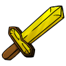 96x96px size png icon of Gold Sword