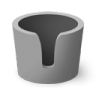 96x96px size png icon of Melting Pot Empty