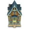 96x96px size png icon of Old House