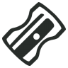 96x96px size png icon of Sharpener