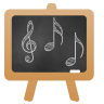 96x96px size png icon of Music Lesson