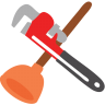 96x96px size png icon of Plumbing