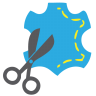 96x96px size png icon of Scissor Sew